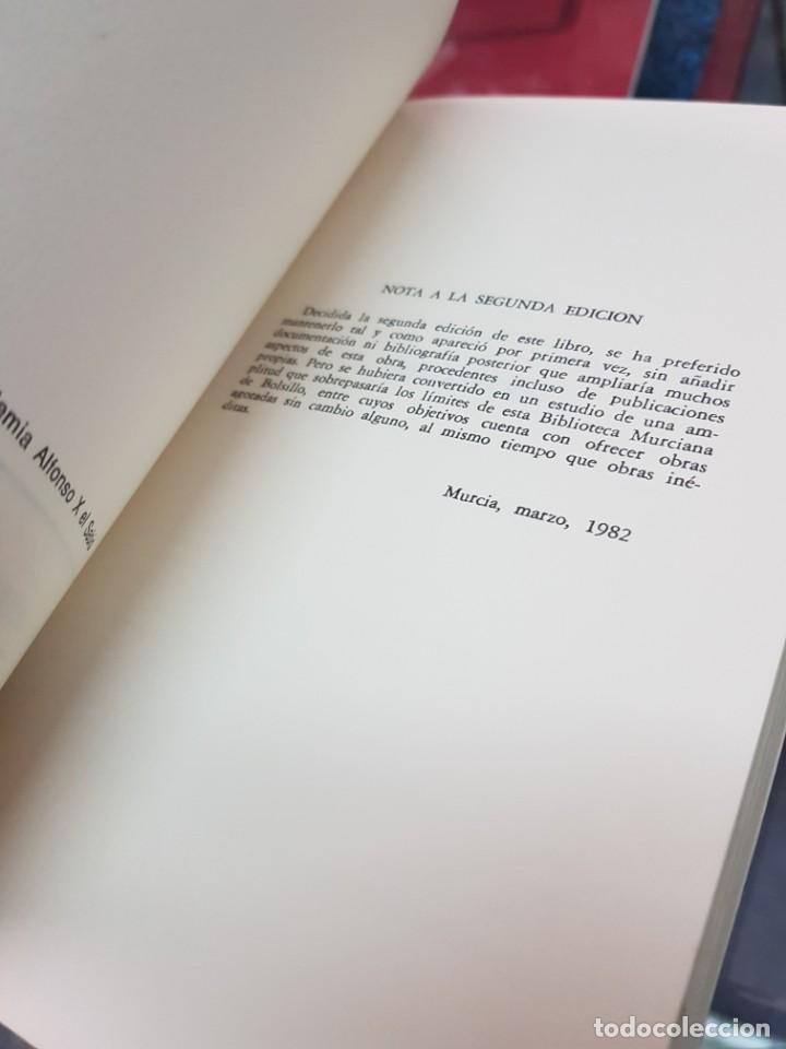 Libros: EL SEÑORIO DE ABANILLA MURCIA TORRES FONTES 1982 - Foto 3 - 246082295