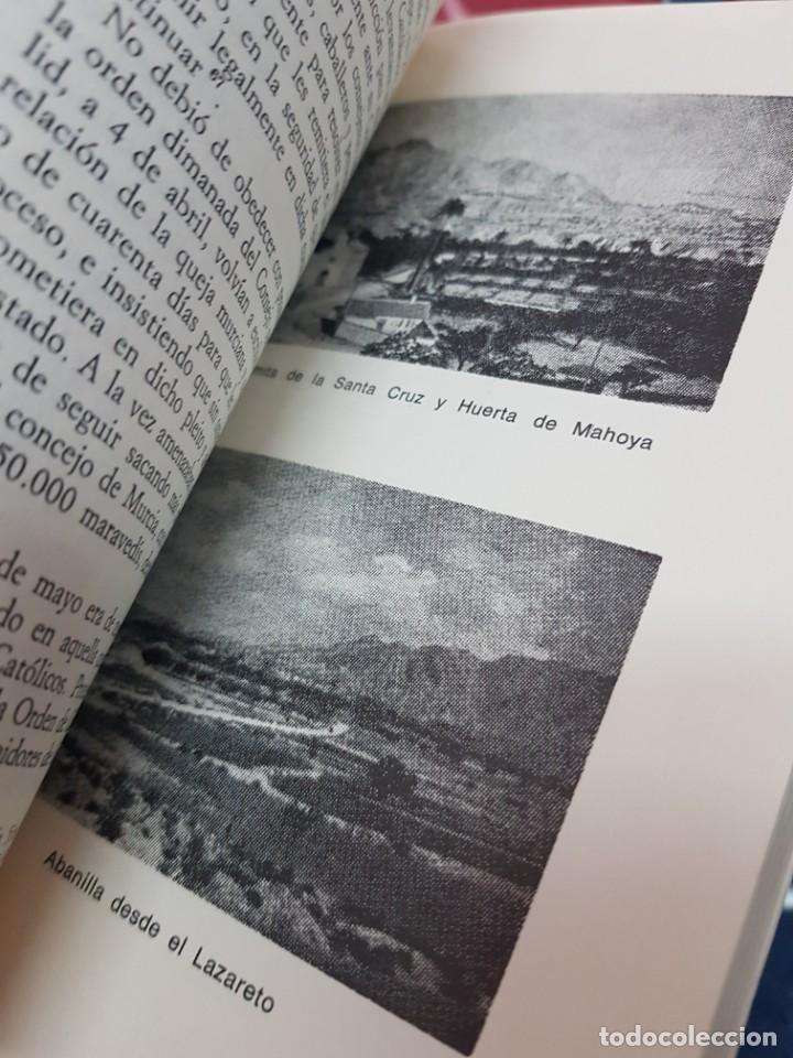 Libros: EL SEÑORIO DE ABANILLA MURCIA TORRES FONTES 1982 - Foto 5 - 246082295
