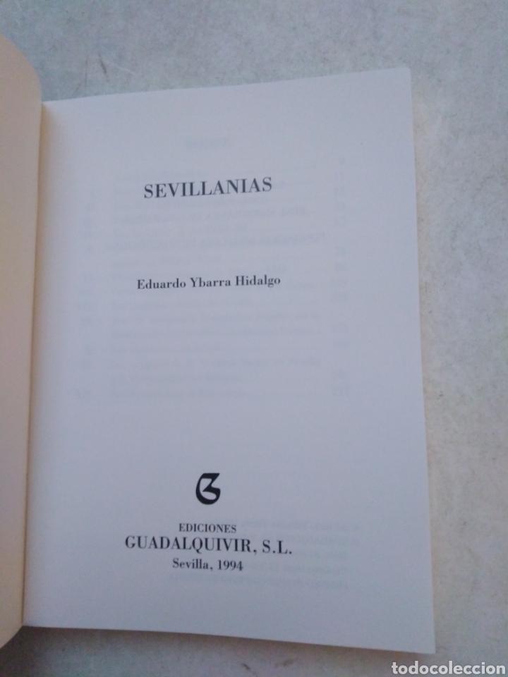 Libros: Sevillanias, Eduardo Ybarra Hidalgo - Foto 3 - 246354820