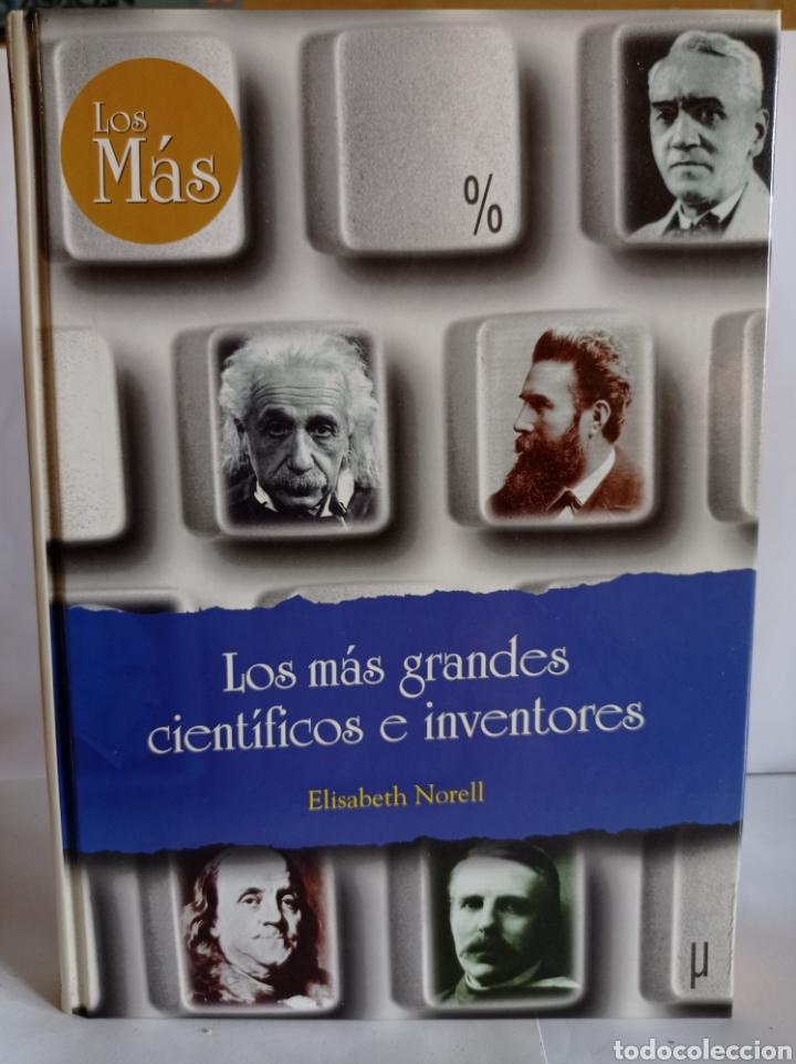 LIBRO,LOS GRANDES CIENTIFICOS E INVENTORES,DE ELISABETH NORELL PEJNER.EDICIONES RUEDA-1998. TAPA DUR (Libros Nuevos - Historia - Otros)
