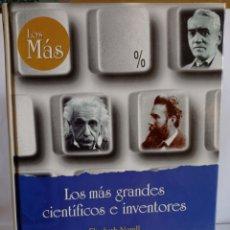 Libros: LIBRO,LOS GRANDES CIENTIFICOS E INVENTORES,DE ELISABETH NORELL PEJNER.EDICIONES RUEDA-1998. TAPA DUR. Lote 248218075