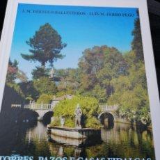Libros: TORRES, PAZOS E CASAS FIDALGAS DO CONCELLO DA ESTRADA. Lote 253635990