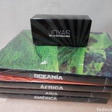Libros: JOYAS DE LA NATURALEZA PRECINTADA. Lote 253890090