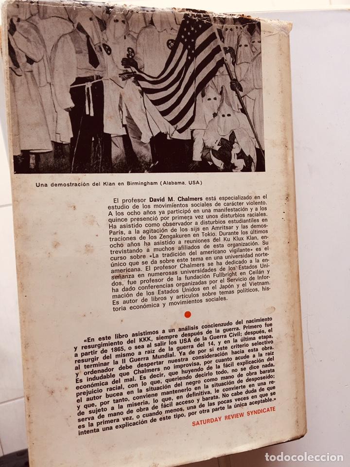 Libros: ANTIGUO LIBRO DEL KU KLUK KLAN,USA,ESTADOS UNIDOS,COLECCIONISMO AÑOS 60 - Foto 2 - 257712750