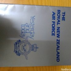 Libros: THE ROYAL NEW ZEALAND AIR FORCE YESTERDAY AND TODAY. Lote 258133210