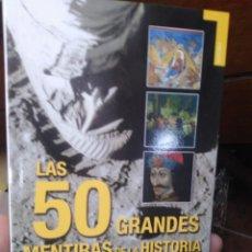 Libri: LOS 50 GRANDES MENTIRAS DE LA HISTORIA-BERND INGMAR GUTBERLET-EDITA TEMPUS 1°EDICION 2009. Lote 260335045