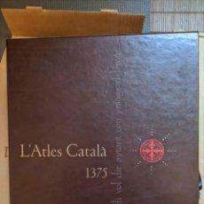 Libros: L'ATLES CATALÀ 1375 . EL MÓN I ELS DIES. Lote 260817800