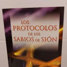 Libros: LOS PROTOCOLOS DE LOS SABIOS DE SIÓN / SERGE NILUS. Lote 262324785