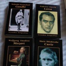 Libros: GRANDES BIOGRAFÍAS. Lote 262537460