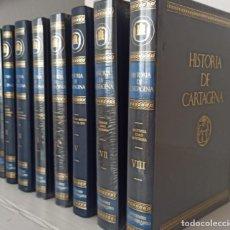 Libros: HISTORIA DE CARTAGENA 8 TOMOS- TAMBIEN SE VENDEN SUELTOS- NUEVOS DE LIBRERIA. Lote 263119275