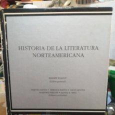 Libros: HISTORIA DE LA LITERATURA NORTEAMERICANA-EMORY ELLIOT-EDITA CÁTEDRA 1991. Lote 266536598