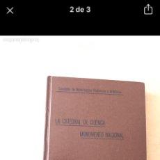 Libros: CRÓNICA DEL HUNDIMIENTO DE LA CATEDRAL DE CUENCA 1923. Lote 266974569