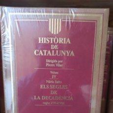 Libros: HISTORIA DE CATALUÑA. Lote 269166803