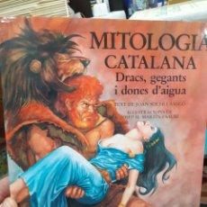 Libri: MITOLOGIA CATALANA(DRACS,GEGANTS I DONES D'AIGUA-EDITA BARCANOVA 1990. Lote 275540633