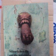 Libros: MISCELÁNEA DA ANTIGA PROVINCIA DE MONDOÑEDO. X. ISIDRO FERNÁNDEZ- LUGO-GALICIA. Lote 277175748