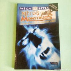 Libros: MITOS Y MONSTRUOS . .ILUSTRADO . OBELISCO-PEARSON . NUEVO A ESTRENAR. Lote 279429188