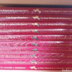 Libros: ENCICLOPEDIA LA GRAN HISTORIA DE LA COMUNIDAD VALENCIANA. Lote 287884843