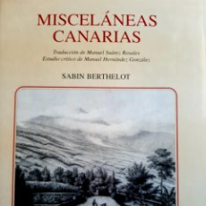 Libros: MISCELANEAS CANARIAS. Lote 289582863
