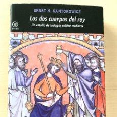 Livros: ERNST H. KANTOROWICZ, LOS DOS CUERPOS DEL REY: UN ESTUDIO DE TEOLOGÍA POLÍTICA MEDIEVAL, AKAL, 2012.. Lote 290808608
