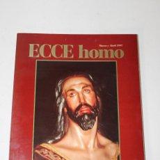 Libros: REVISTA ECCE HOMO SEMANA SANTA DE CARTAGENA. MARZO Y ABRIL 1997. Lote 294088458