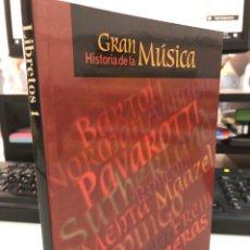 Libros: GRAN HISTORIA DE LA MUSICA - SALVAT 2001. Lote 297024953