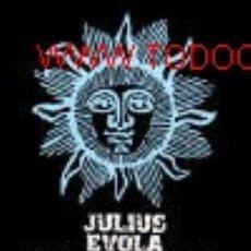 Libros: MEDITACIONES DE LAS CUMBRES POR EVOLA JULIUS GASTOS DE ENVIO GRATIS ENR. Lote 85476478