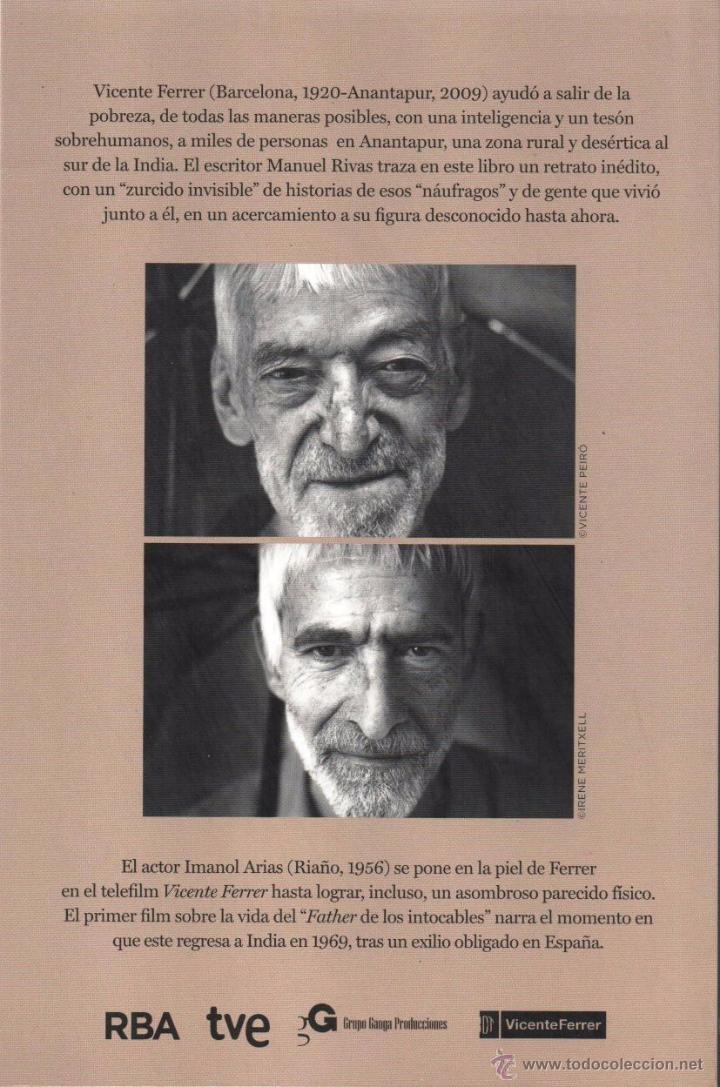 Libros: VICENTE FERRER de MANUEL RIVAS - RBA, 2014 - Foto 2 - 146539132