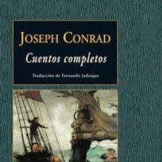 Libros: CUENTOS COMPLETOS JOSEPH CONRAD CONRAD, JOSEPH VALDEMAR EDICIONES - GASTOS DE ENVIO GRATIS. Lote 94624232