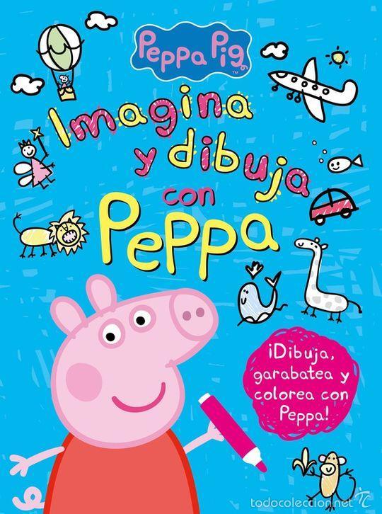 imagina y dibuja con peppa (peppa pig. activida - Comprar Libros ...