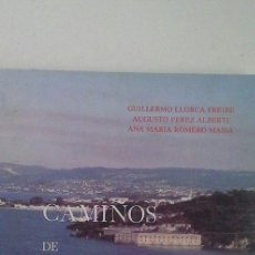Libros: CAMIÑOS DE FERROLTERRA. Lote 71306045