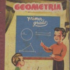 Libros: LIBRO DE GEOMETRIA DE PRIMER GRADO EDICIONES BRUÑO AÑO 1958. Lote 97924471