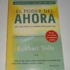 Libros: EL PODER DEL AHORA POR ECKHART TOLLE. Lote 98125703