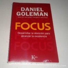 Libros: FOCUS: DESARROLLAR LA ATENCIÓN PARA ALCANZAR LA EXCELENCIA POR DANIEL GOLEMAN. Lote 98442279