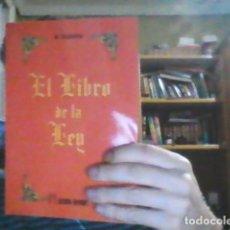 Libros: EL LIBO DE LA LEY A CROWLEY. Lote 98660959