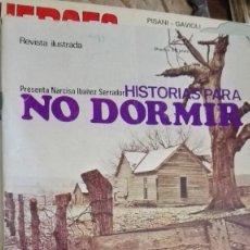 Libros: REVISTA HISTORIAS PARA NO DORMIR VOLUMEN 6 10 DICIEMBRE DE 1972 BUEN ESTADO NARCISO IBÁÑEZ SERRADOR. Lote 113059719