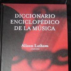 Libros: DICCIONARIO ENCICLOPEDICO DE LA MUSICA. Lote 113690487