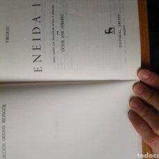 Libros: LIBRO ENEIDA II,COLECCIÓN GREDOS BILINGÜE.. Lote 117102955