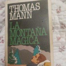 Libros: MONTAÑA MÁGICA THOMAS MANN EDITORIAL:PLAZA & JANÉS EDITORIES, S.A., BARCELONA, 1983 ISBN 10:840. Lote 119491692