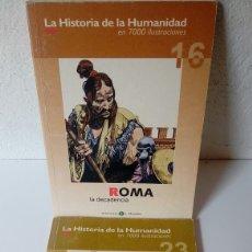 Libros: LIBROS LA HISTORIA DE LA HUMANIDAD ROMA EL MEDIEVO. Lote 121855470