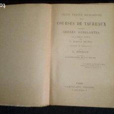Libros: TOROS. TAUROMAQUIA. BLASCO-IBAÑEZ.. Lote 131549494