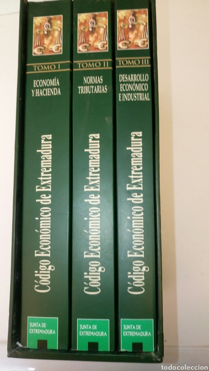 CÓDIGO ECONÓMICO DE EXTREMADURA, 3 TOMOS. (Libros Nuevos - Humanidades - Otros)