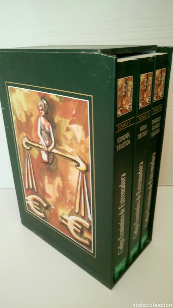 Libros: Código Económico de Extremadura, 3 tomos. - Foto 3 - 131559279