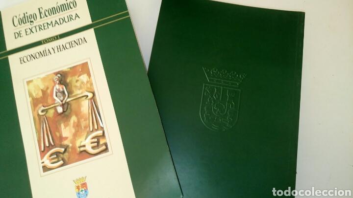 Libros: Código Económico de Extremadura, 3 tomos. - Foto 4 - 131559279