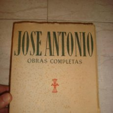 Libros: JOSE ANTONIO OBRAS COMPLETAS 1950. Lote 134093470
