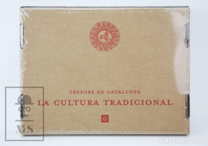LIBRO EN CATALÁN - TRESORS DE CATALUNYA. LA CULTURA TRADICIONAL - ENCICLOPEDIA CATALANA - #FLA (Libros Nuevos - Humanidades - Otros)