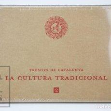Libros: LIBRO EN CATALÁN - TRESORS DE CATALUNYA. LA CULTURA TRADICIONAL - ENCICLOPEDIA CATALANA - #FLA. Lote 139303294