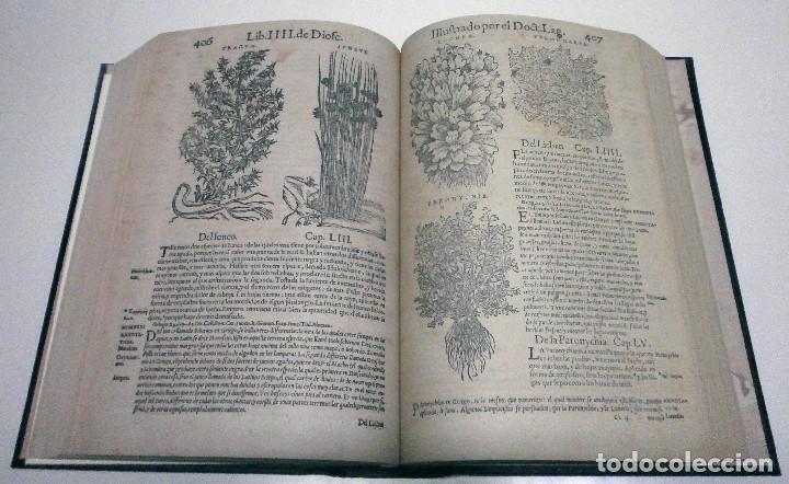 Libros: DIOSCORIDES. Acerca de la materia medicinal y de los venenos mortíferos... Facsímil ed. 1566. 2009. - Foto 2 - 139956282