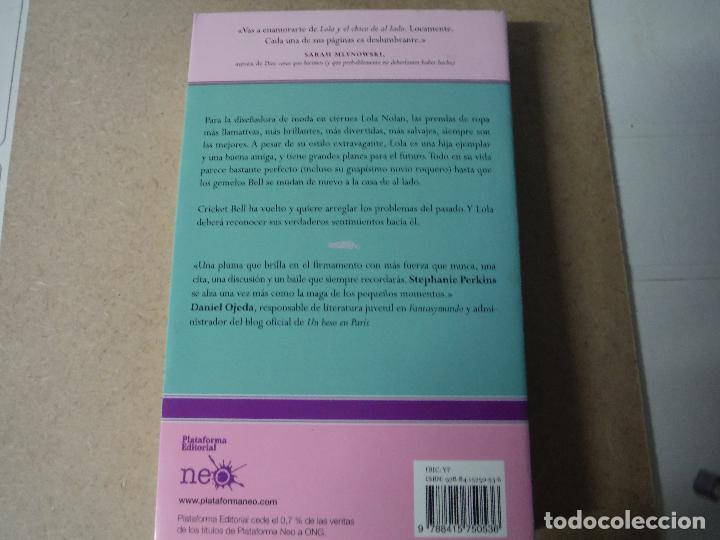Libros: LOLA Y EL CHICO DE AL LADO STEPHANIE PERKINS - Foto 2 - 143387694