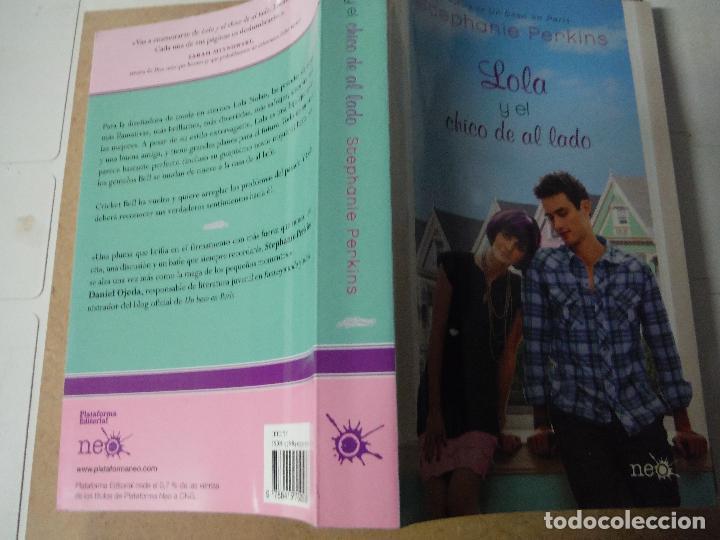 Libros: LOLA Y EL CHICO DE AL LADO STEPHANIE PERKINS - Foto 3 - 143387694
