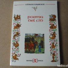 Libros: POEMA DEL CID EDITORIAL CASTALIA. Lote 143410722